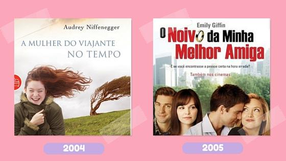 Leitura na rede_livros 2004 e 2005