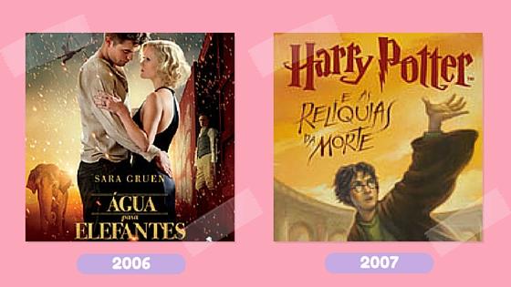 Leitura na rede_livros 2006 e 2007