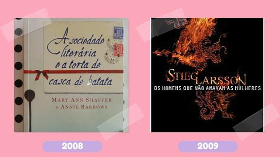 Leitura na rede_livros 2008 e 2009