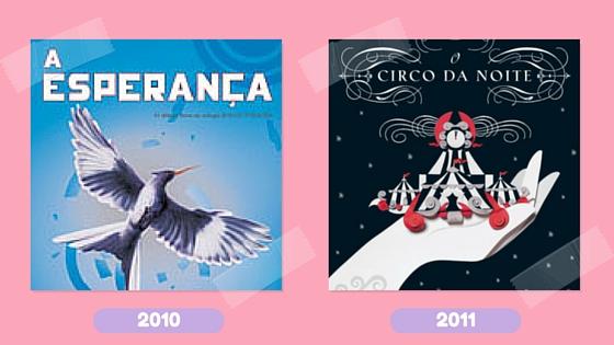 Leitura na rede_livros 2010 e 2011
